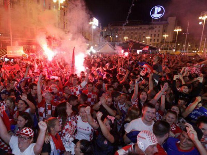 La Selección de Croacia está apoyada por una población 'pequeña' en comparación con muchos finalistas de otros Mundiales (Foto AP)