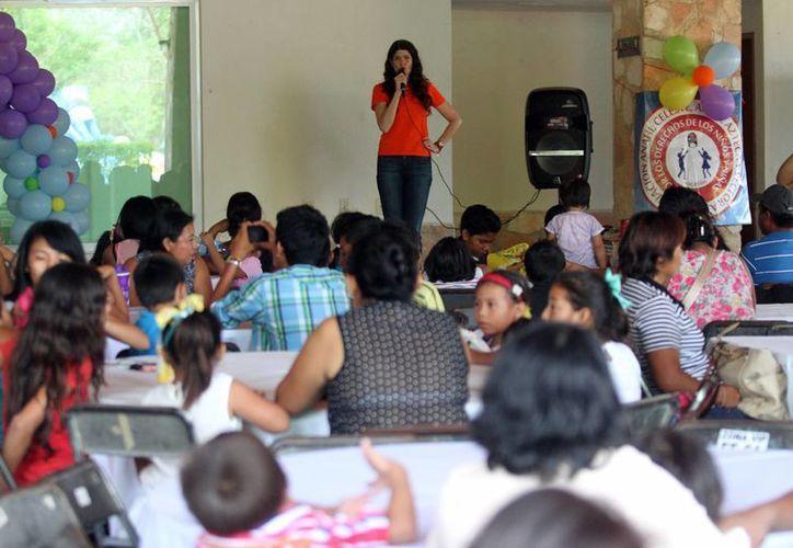 El objetivo del festejo fue darles a los niños momentos felices que ayudan a su salud emocional.(Milenio Novedades)