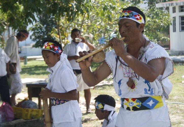El sábado se realizarán dos ceremonias mayas en Playa del Carmen para recibir la primavera. (Octavio Martínez/SIPSE)