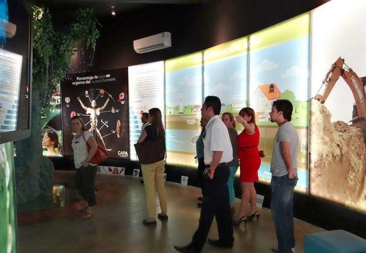El Museo de Agua de Cancún busca fomentar el uso responsable de los recursos naturales entre los jóvenes y los adultos quintanarroenses. (Redacción/SIPSE)