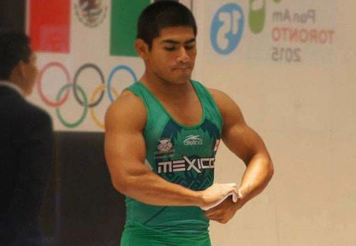José Lino Montes se ubicó en el puesto 14 del Campeonato Mundial de Levantamiento de Pesas en Houston, Texas. (Milenio Novedades)