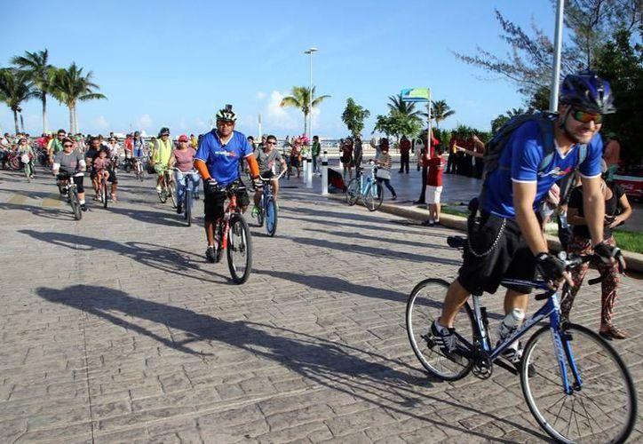La ciclopista requiere de mayor atención no sólo de las autoridades sino de la misma población. (Archivo/ SIPSE)