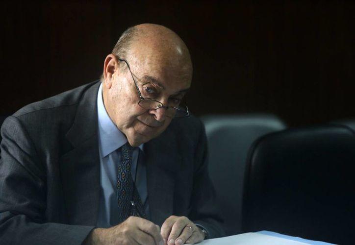 El exministro de Economía Domingo Cavallo asiste a la etapa final del juicio en su contra en Buenos Aires, Argentina. (Agencias)