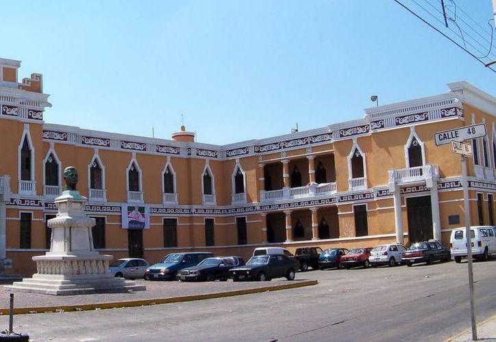 La sede del PRI estatal. (SIPSE)