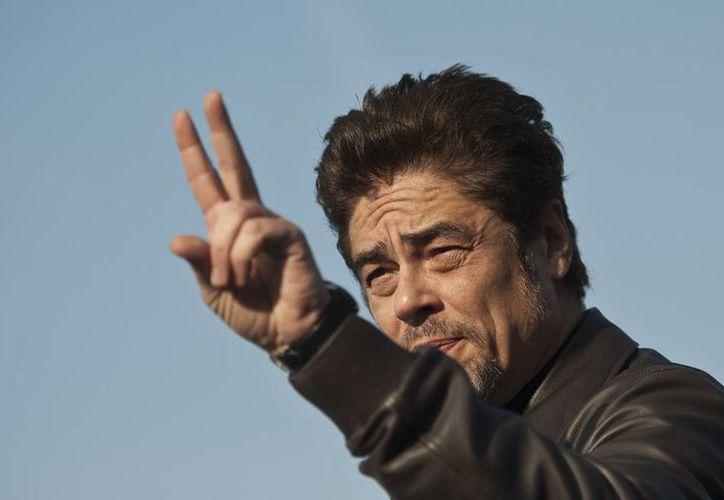 """Benicio del Toro, de 48 años, acudió al Festival de cine de San Sebastián para presentar la cinta """"Escobar: Paradise Lost"""", la cual protagoniza. (AP)"""
