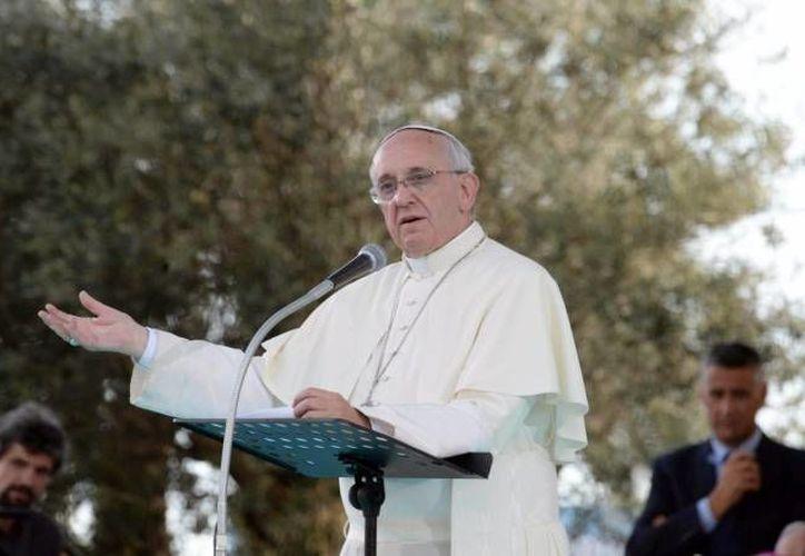 El Papa y los obispos mexicanos dialogarán, entre otros temas, acerca de la violencia y el Crimen Organizado en México. (EFE/Foto de archivo)