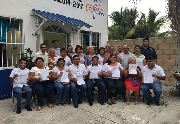 Los militantes del Partido Acción Nacional en Cozumel eligieron a su nuevo líder este domingo. (Cortesía)