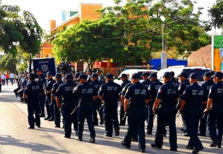 Las autoridades de Solidaridad dicen confiar en los nuevos mandos policiacos del municipio. (Daniel Pacheco/SIPSE)