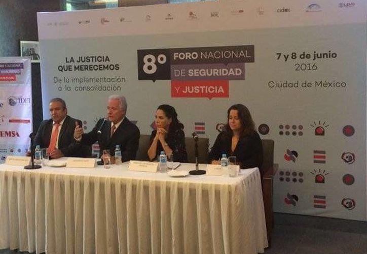 Alejandro Martí, presidente de México SOS, refirió que en el nuevo mecanismo de justicia penal es prioritario que la justicia se dé de manera pronta y expedita. (twitter.com/SEGOB_mx)