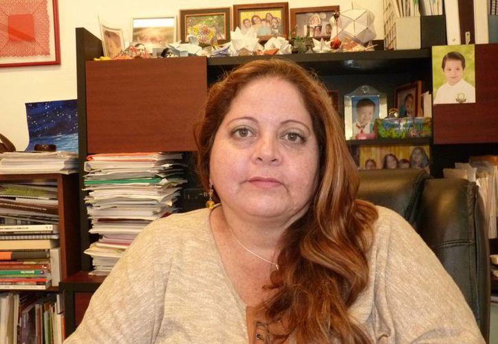 En la imagen, Marisol Vanegas Pérez. (Israel Leal/SIPSE)