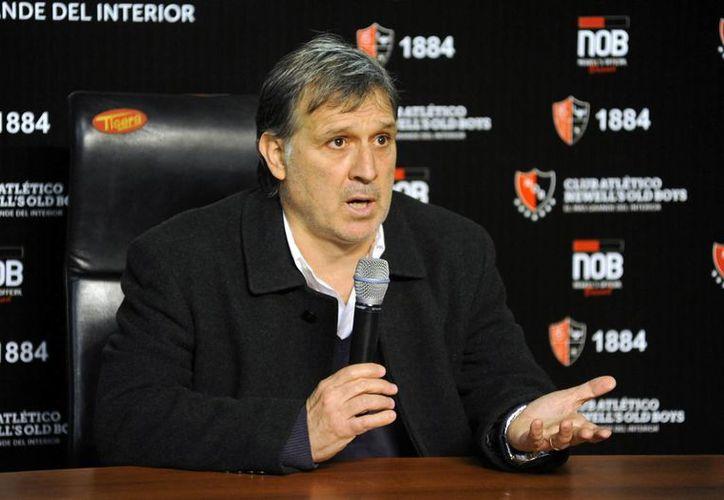 Martino aseguró que él se amoldará a la filosofía de juego de su nuevo club y no al revés. (Agencias)