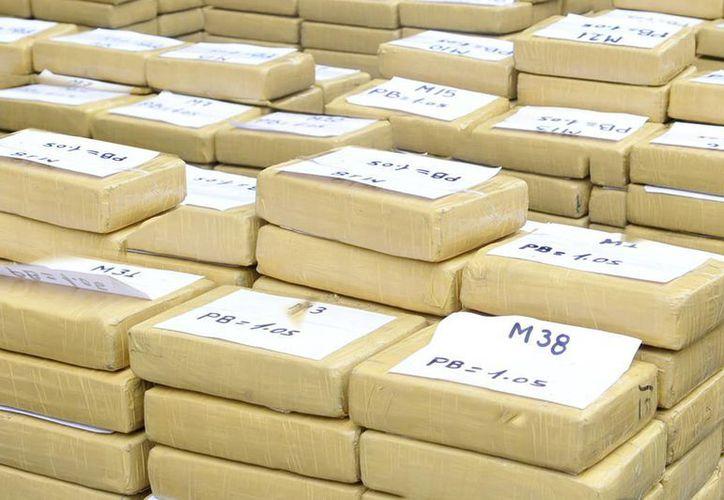 Desde octubre de 2014, en territorio estadounidense en el Caribe se ha registrado un aumento de 89% en las incautaciones de cocaína. Imagen de contexto únicamente para fines ilustrativos. (Foto:www.diariorepublica.com)