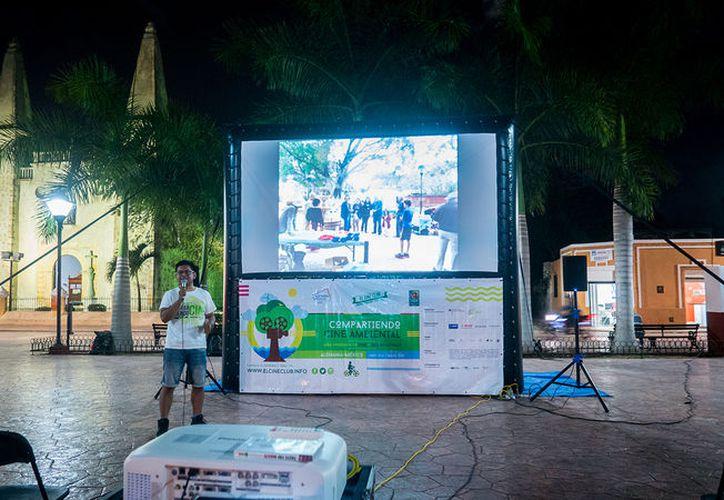 Las proyecciones tendrán lugar en el parque La Ceiba, de Playa del Carmen. (Faride Cetina)