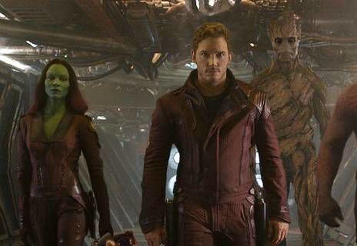 Guardians Of The Galaxy, cinta de Marvel Studios, se mantiene como la película más taquillera de 2014 en Norteamérica. (film.com)