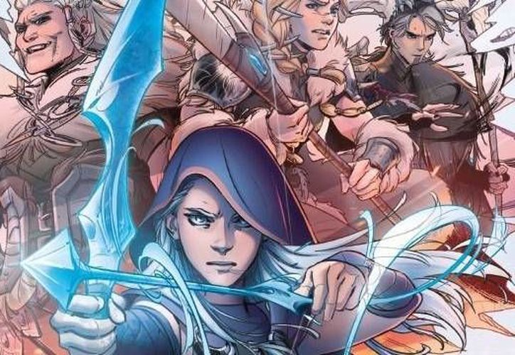 La primera colaboración entre Marvel y Riot Games involucrará a Ashe, en una obra que se titulará League of Legends: Ashe: Warmother. (Twitter/@loleu)