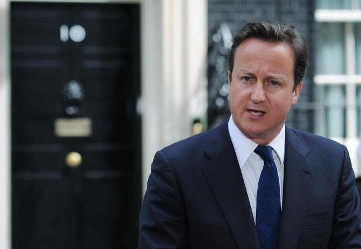 """El primer ministro británico, David Cameron juzgó el comportamiento de Moscú como """"inaceptable"""". (Archivo/SIPSE)"""