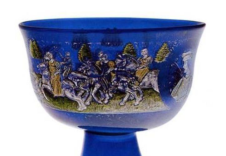 Este objeto, del siglo XV, forma parte de la colección del Museo de Vidrio de la Isla de Murano. (museovetro.visitmuve.it)