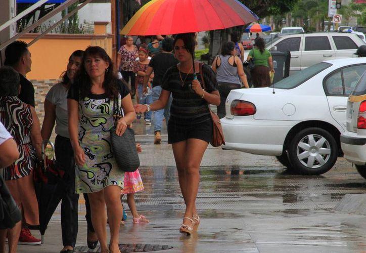 Las lluvias continuarán en Quintana Roo durante este viernes. (Ángel Castilla/SIPSE)