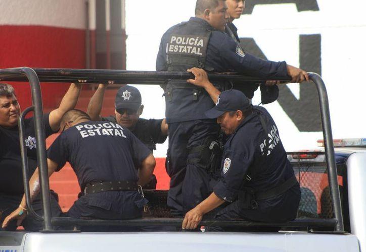 A través Unidad de Servicios Especiales de Vigilancia se puede solicitar la protección de elementos policiales del Estado. (Harold Alcocer/SIPSE)