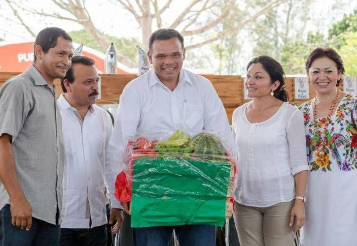 El gobernador Rolando Zapata estará este martes en Ticimul, comisaría de Umán, y en Mérida. (SIPSE)