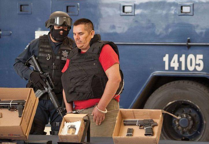 El hijo de 'El Chango' Méndez -en la imagen- habría sido liberado tras el soborno a un juez federal en Michoacán. (Foto: Revista Proceso/Archivo)