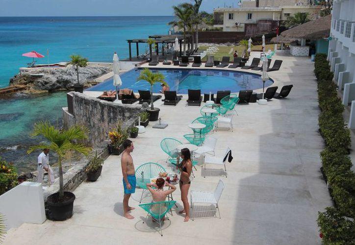 El nuevo hotel sumará 156 habitaciones a la oferta de cuartos de Cozumel.  (Gustavo Villegas/SIPSE)