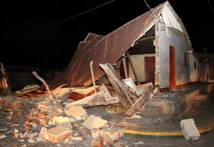 Un terremoto de 6.1 sacudió la costa norte de Nicaragua anoche, cerca de la frontera con Honduras. (ultimatrompeta.com)