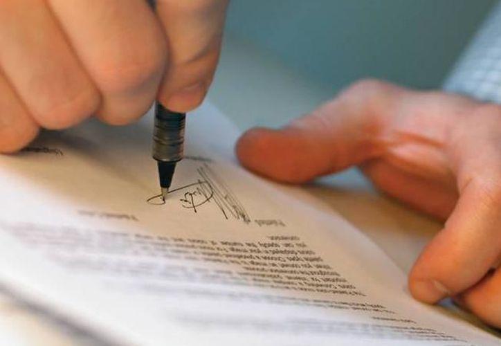 El testamento ológrafo, que es escrito de puño y letra de la persona, es el más solicitado en Yucatán. (Imagen de contexto/ SIPSE)