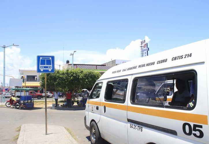 El 22 de agosto iniciará formal el servicio de transporte urbano. (Harold Alcocer/SIPSE)