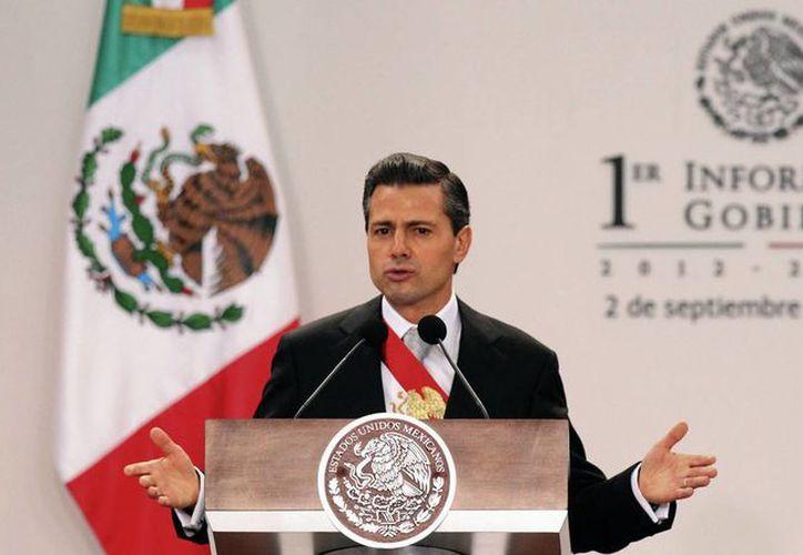 De acuerdo con el Primer Informe de Gobierno de Peña Nieto, para Promoción cultura nacional e internacional se destinaron tres mil 356.3 millones de pesos. (Notimex)