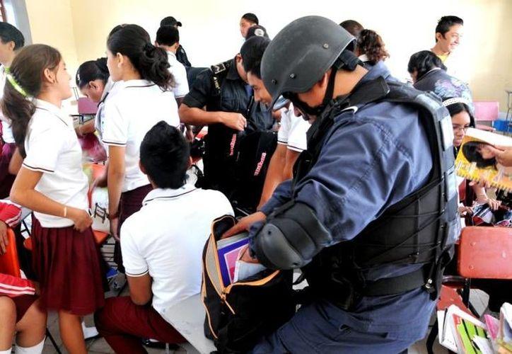 El programa será aplicado desde alumnos de primaria hasta prepratoria en cozumel. (Julián Miranda/SIPSE)