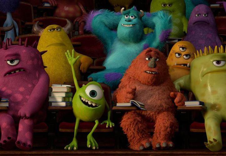 """Además, Monsters University es cuarto lugar en recaudación en las cintas de Disney y Pixar, luego de """"Toy story 3"""", """"Buscando a Nemo"""" y """"Up"""". (Facebook oficial)"""
