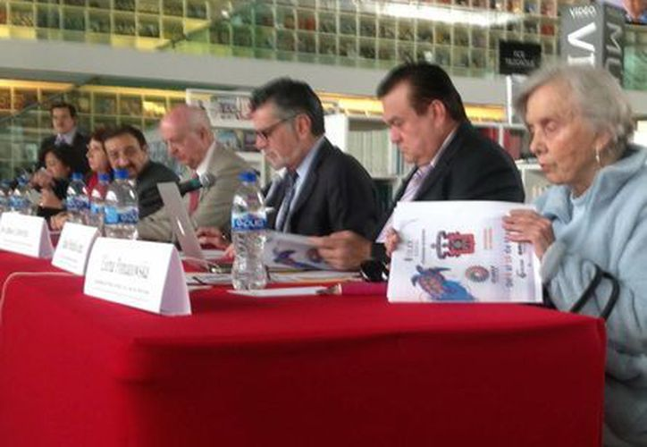 El programa de la Filey fue presentado en la Ciudad de México, en la Librería Rosario Castellanos del Fondo de Cultura Económica. (Milenio Novedades)