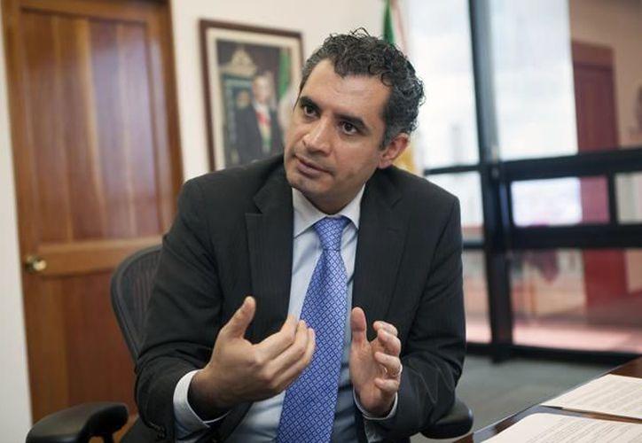 Enrique Ochoa Reza, el presidente nacional del partido, hizo la declaración. (El Constituyente)