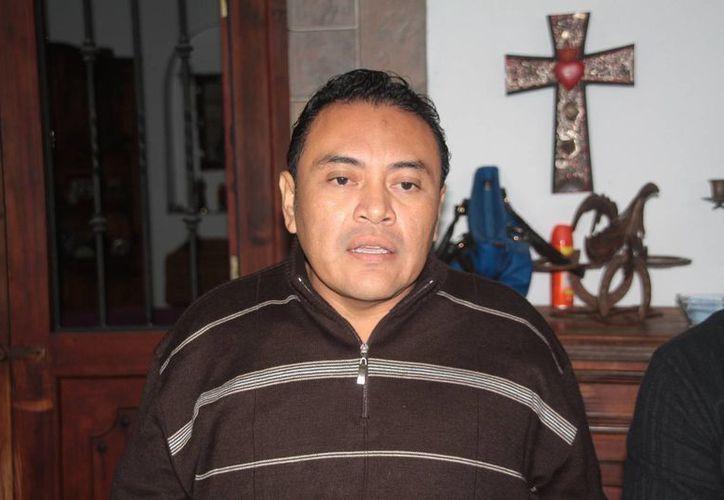 Roberto de Jesús Esquivel Paredes, presidente de los contadores. (Julián Miranda/SIPSE)