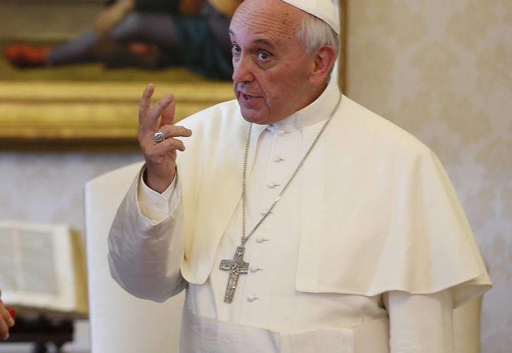 El papa Francisco recibirá en audiencia a los jugadores de las selecciones de ambos equipos. (Agencias)