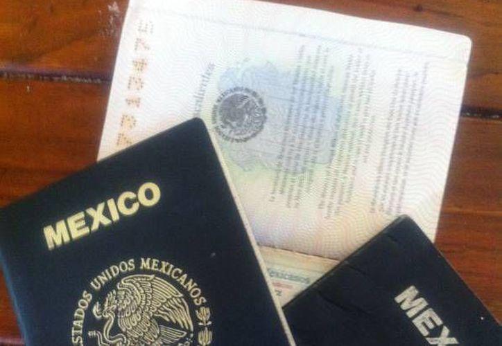 A diario en Cancún se otorgan entre 100 y 150 pasaportes, de los cuales el 30% son para menores de edad. (Redacción/SIPSE)