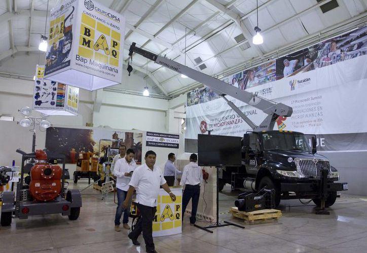 Este viernes se inauguró en Mérida la Expo Construcción Yucatán 2015, donde se analizó la situación de esa industria durante 2015. (Notimex)