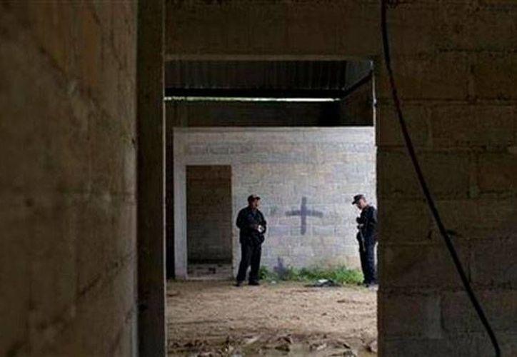 Bodega donde se registró un enfrentamiento entre militares y civiles, en Tlatlaya estado de México. La justicia federal dictó auto de formal prisión a militares que participaron en el tiroteo. (Archivo/Milenio Digital)