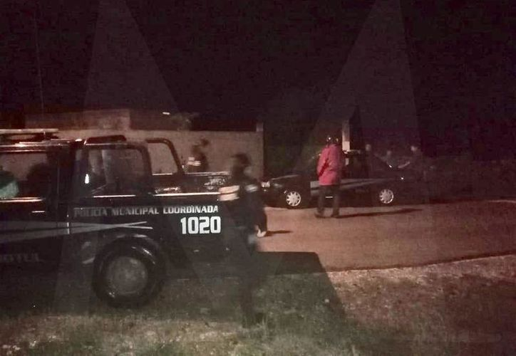 El supuesto robo de la menor ocurrió esta tarde y obligó a la movilización de la policía en Motul.
