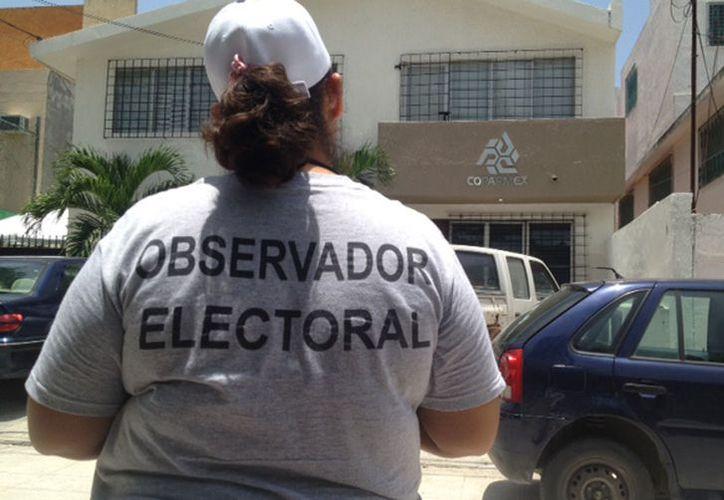 Se espera el registro de más observadores electorales. (Redacción/SIPSE)
