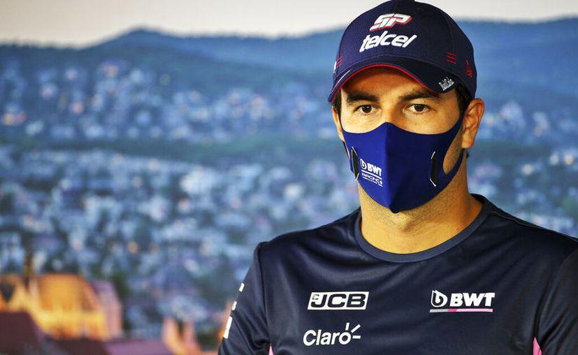 El piloto mexicano de 30 años de edad dio positivo en una segunda prueba, luego de que un primer examen arrojó resultado inconcluso. (Foto: AP)