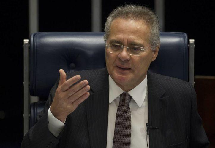 El presidente de la Cámara Alta brasileña, Renán Calheiros, se dijo confiado en la justicia tras abrirse un proceso por corrupción en su contra. (EFE)