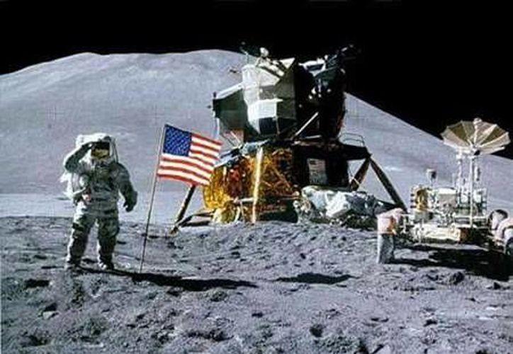 Apolo 11 es el nombre de la misión espacial que Estados Unidos envió al espacio el 16 de julio de 1969, siendo la primera misión tripulada en llegar a la superficie de la Luna. (NASA)