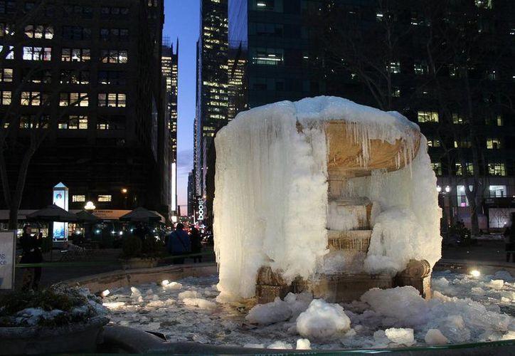 En Nueva York comenzaron a sentirse temperaturas bajo cero desde este viernes. (Notimex)