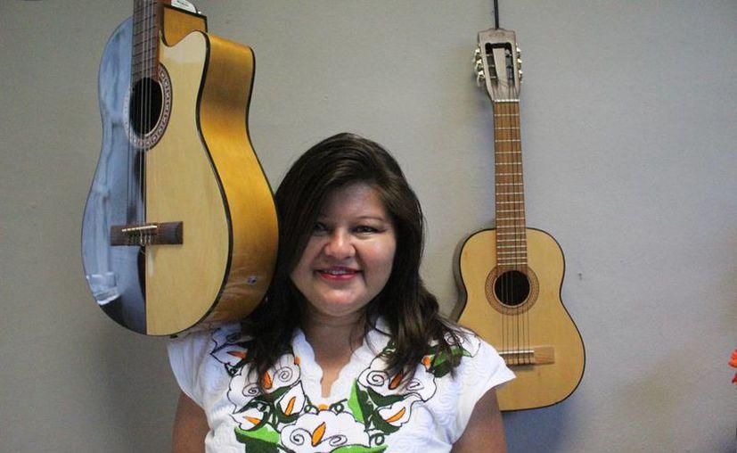 Se ha distinguido como escritora y oradora en Quintana Roo. (Octavio Martínez/ SIPSE)