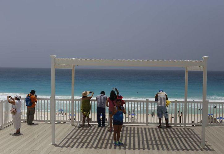 Delfines, una de las playas que cuenta con la distinción. (Israel Leal/SIPSE)