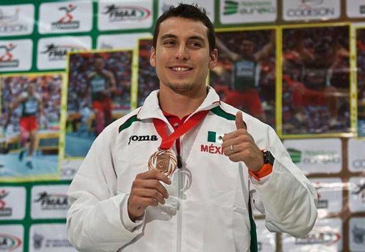 Rivera logró colgarse medallas este año tanto en el Mundial de Moscú como en la Liga Diamante. (record.com/Foto de archivo)