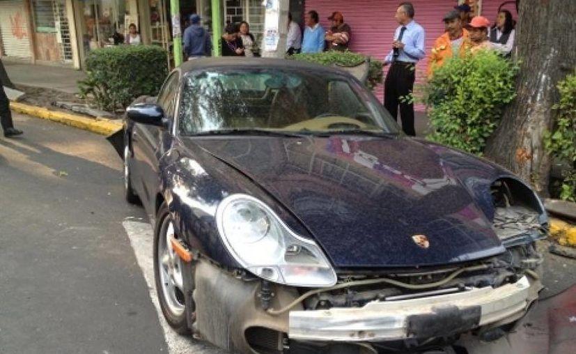 El auto de lujo aún no ha sido reclamado. (Internet)