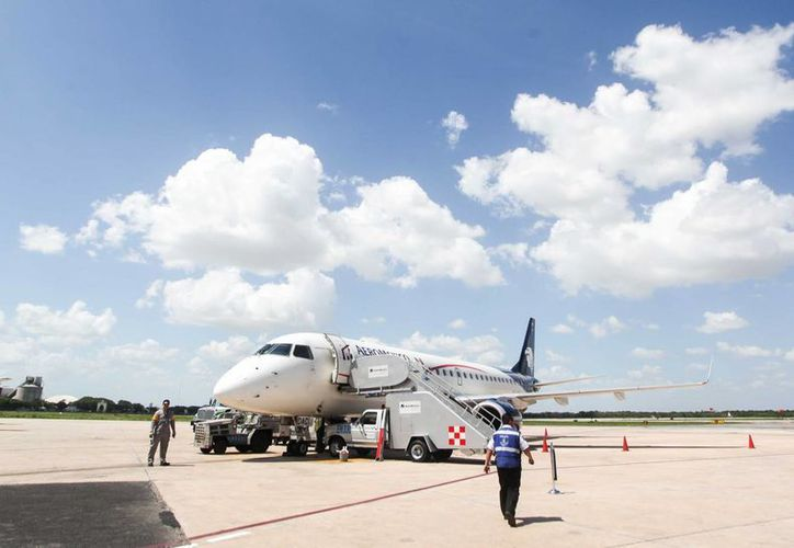 El vuelo Mérida-Miami se reactivará a partir de septiembre próximo. (Amílcar Rodríguez/Milenio Novedades)